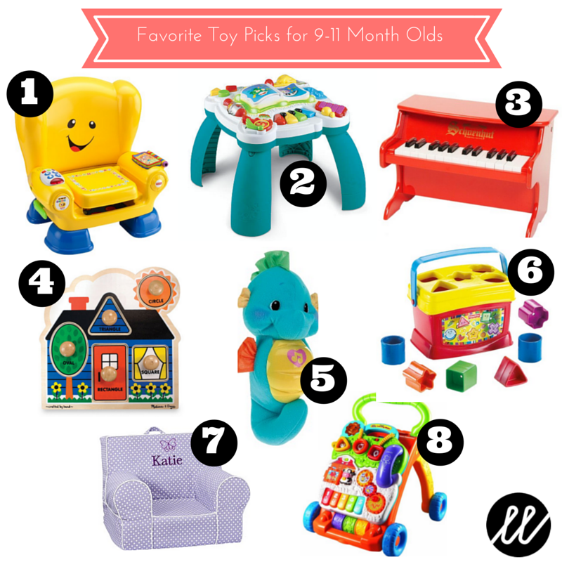 Toys For One Month : January favorites toy picks for month olds little list