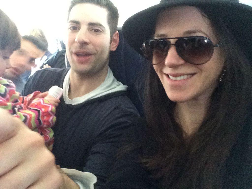 A little first-plane ride craziness!