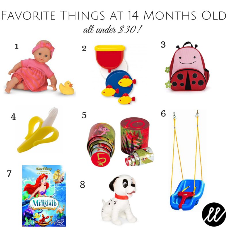 Favorite Things at 12 months old (2)