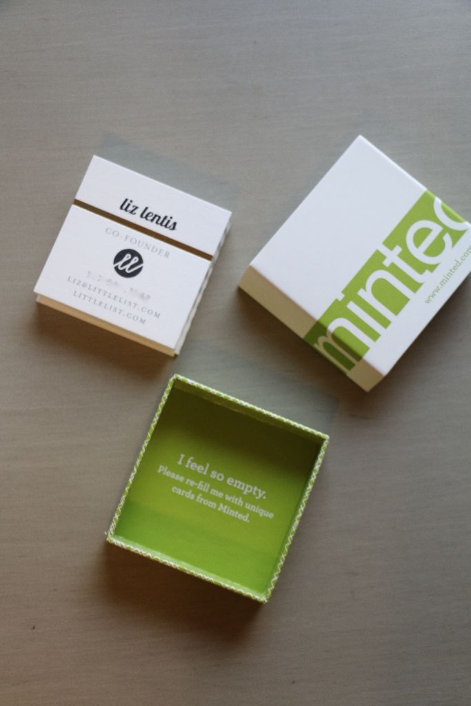 Our Little List Business Cards + A Giveaway! - Little List