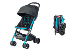 Introducing the new GB Qbit Travel-Ready Stroller + Review