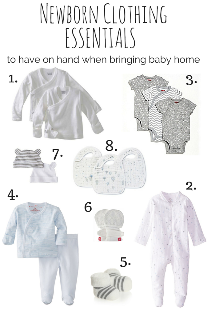 Newborn Clothing: 7 Essential for Your Baby