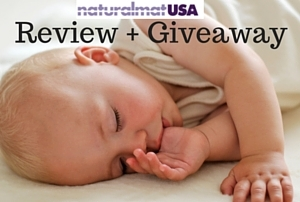 Featuring NaturalMat Mattress and Topper Review + Giveaway!