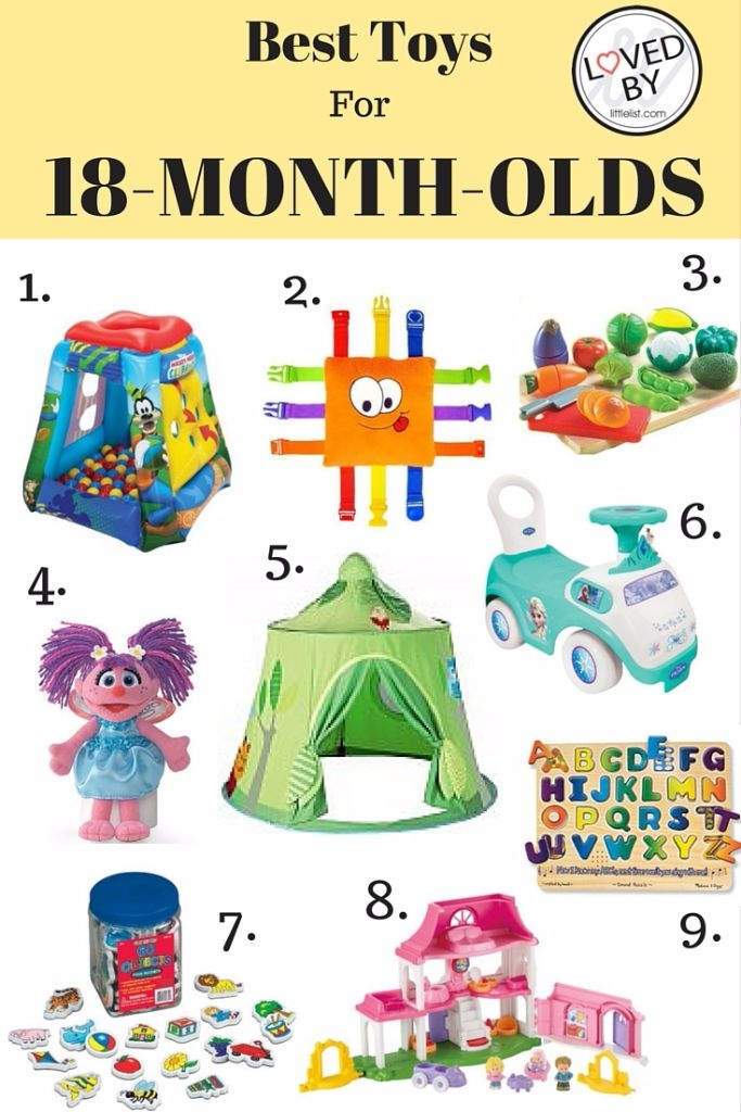 The best toys for children who are 18 months old