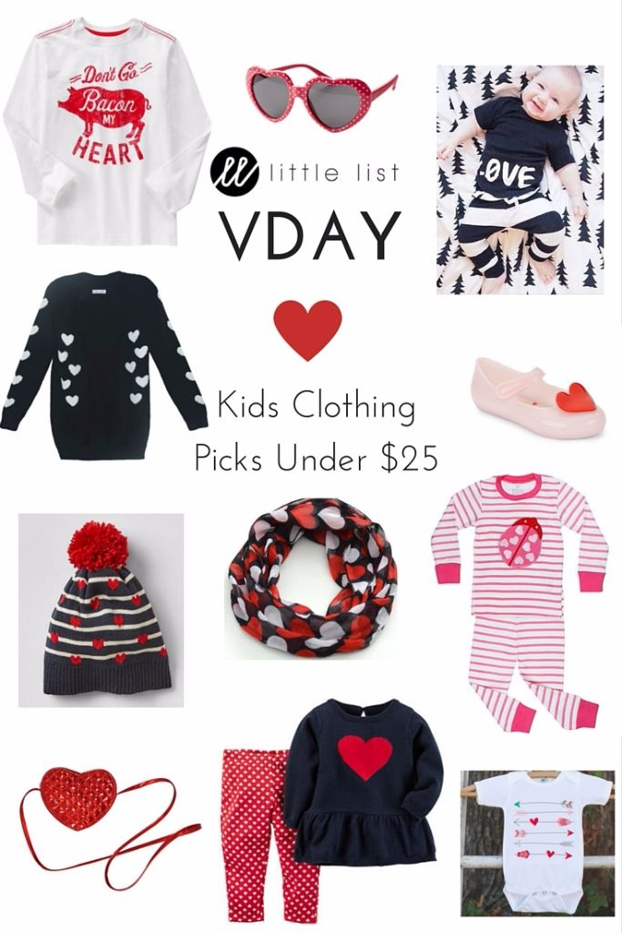 Valentines Day clothes for Kids