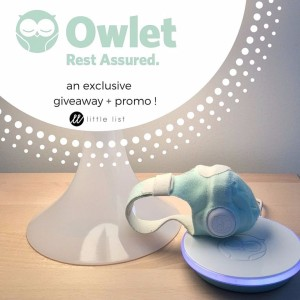 Owlet Smart Sock Product Review and Giveaway (plus a little something extra...)