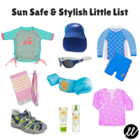 Sun Safe & Stylish Little List
