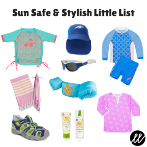 Sun Safe & Stylish Little List