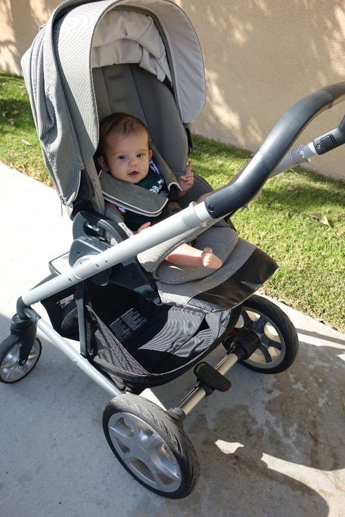 Nuna Brand Highlight Pipa Car Seat Mixx Stroller Sena