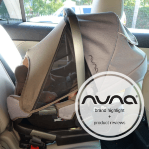Nuna Brand Highlight (Pipa car seat, Mixx stroller + Sena playard)