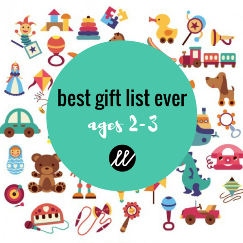 Gift ideas 2 year old