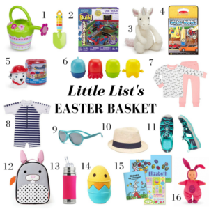 Little List's Easter Basket 2017