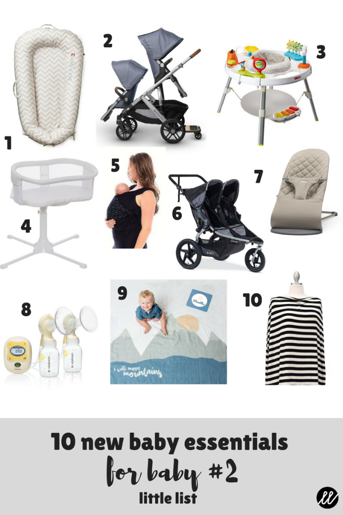 baby gear, baby products, baby gifts, 2nd baby gifts, baby essentials, baby checklist