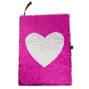 journal gift, sequin journal