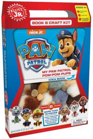 paw patrol, paw patrol gift, klutz crafts